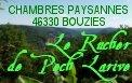 Rucher Pech de la rive Chambre paysanne à Bouziès