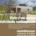 Maison contemporaine à Jamblusse (commune de Saillac)