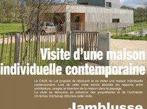 Maison contemporaine à Jamblusse (commune de Saillac)