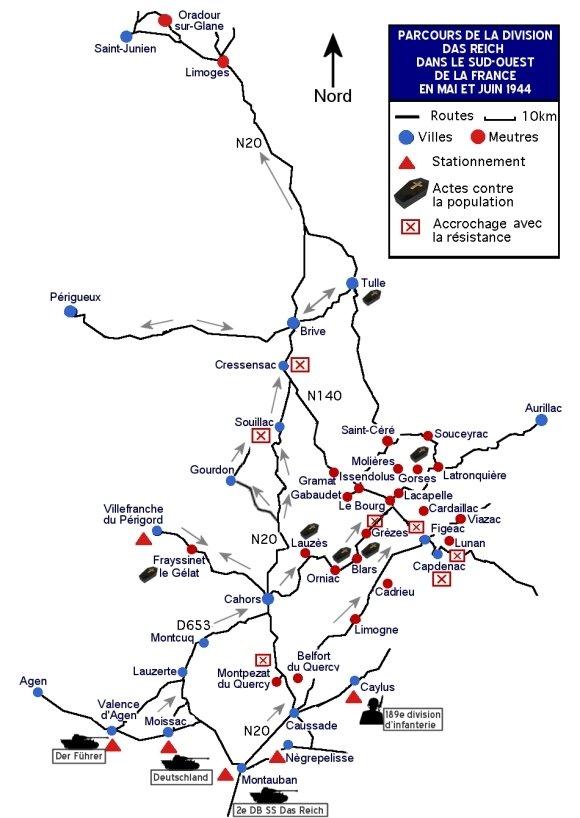 8 juin-20 juin 1944, la Division Das Reich – Quercy.net