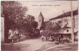 Soucirac-place